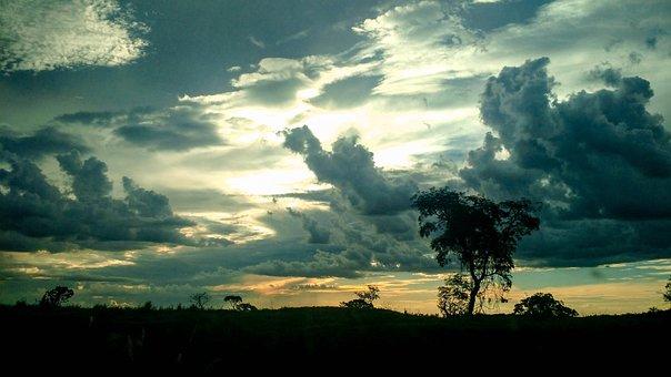 Sky, Colors, Clouds, Sunset, Landscape, Nature, Outdoor