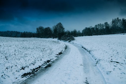 Snow, Away, Wintry, Winter, Landscape, Nature