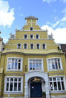 Wismar, Building, Northern Germany, North, Baltic Sea