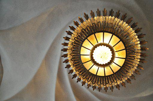 Lamp, Fun, Ceiling Lamp, Architecture, Home, Art