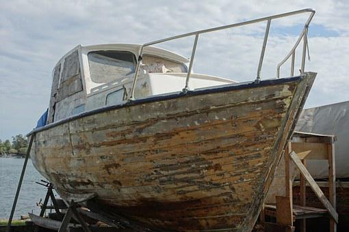 Boat, Repair, Maintenance, Vessel, Painting, Dry-dock