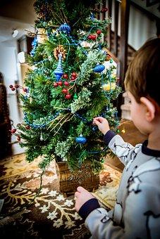 Holiday, Decoration, Christmas, Children