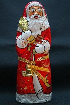 Chocolate Santa Claus, Nicholas, Santa Claus, Chocolate