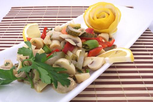Mushroom Salad, Appetizer, Cold Appetizers, Help, Food
