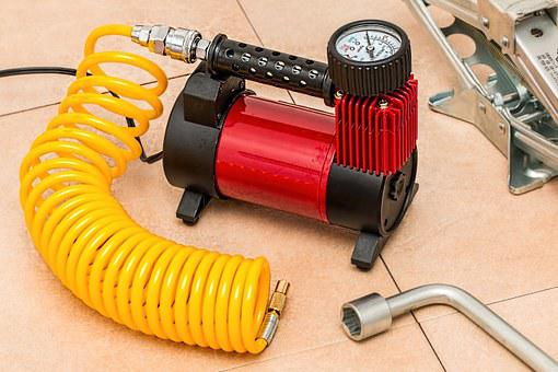 Compressor, Tire Pump, Tyre Pump, Pressure, Inflate