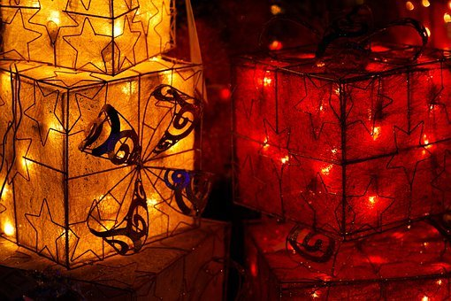 Box, Celebration, Christmas, Decoration, Decorative