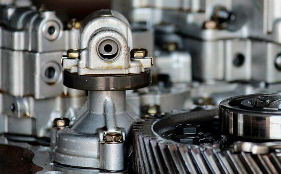 Motor, Transmission, Disassembled, Repair, Mechanics