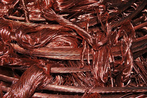 Copper, Wire, Cable, Scrap Metal, Electrical, Industry