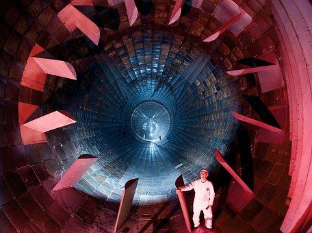 Arnold Afb, Tennessee, Engine, Turbine, Blades, Man
