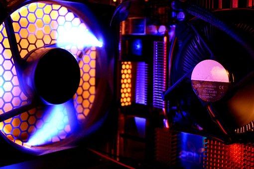 Fan Housing, Processor Fan, Fan, Pc, Edp, Computer