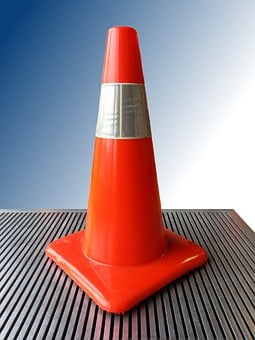 Cone, Traffic, Construction, Flow, Circulation, Sign
