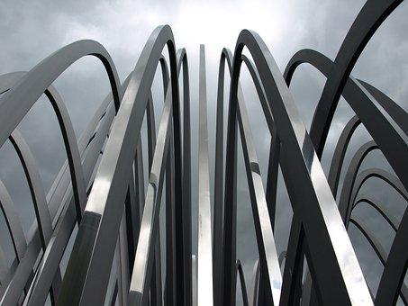 Waiblingen, Gallery, Art, Mood, Clouds, Dark, Grey, Sky