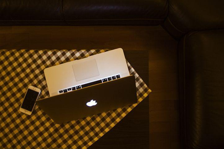 Macbook, Laptop, Computer, Apple, Technology, Iphone