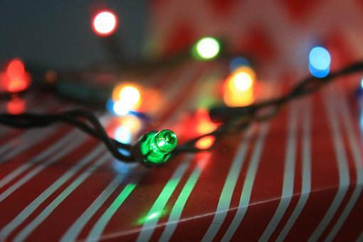 Light, Lighting, Green, Christmas, Festive, Holiday
