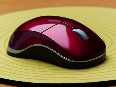 Computer Mouse, Computer, Input Device, Mouse Pad