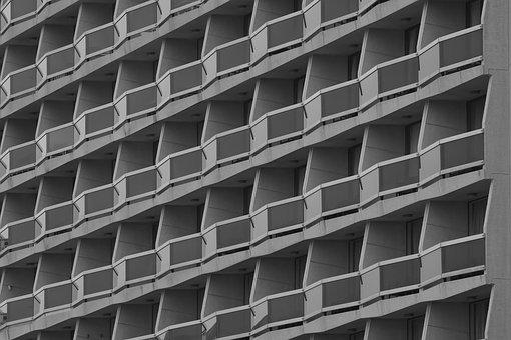 Architecture, Pattern, Building, Terraces, Apartments