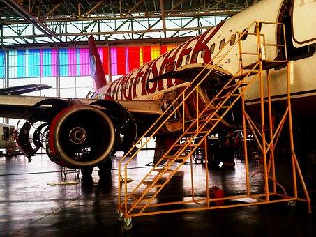 Maintenance, Airplane, Plane, Flying, Airplanes