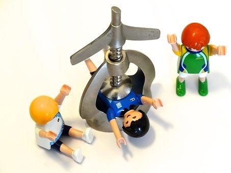 Nutcracker, Playmobil, Pressure, Presses, Metal