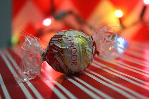 Chocolate, Present, Gift, Candy, Lindt, Lindor