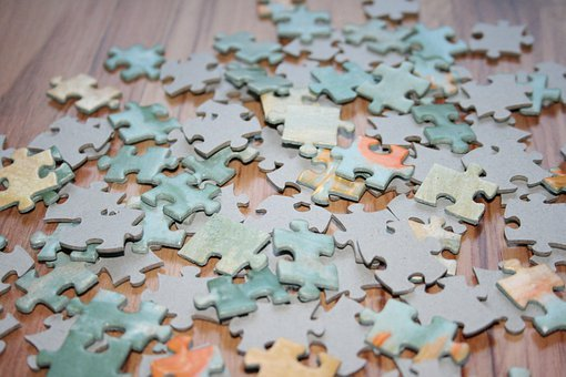 Puzzle, Jigsaw Puzzle, Pieces