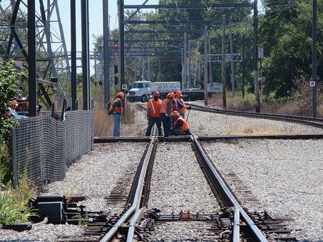 Railroad Workers, Railways, Railroad, Man, Rail