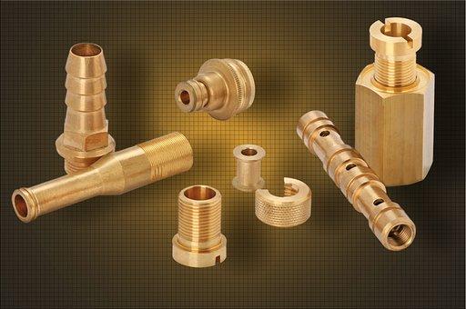 Brass, Repair, Metal, Spare Parts, Metalworking