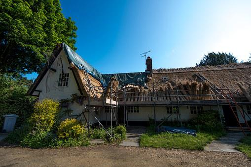Thatching, Cottage, Thatched, Village, English, Thatch