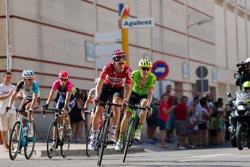 Return, Cyclist, Spain, The Turn, Bicycle, Sport