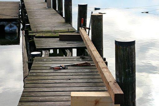 Wood Work, Wood, Work, Repair, Web, Boardwalk, Patch