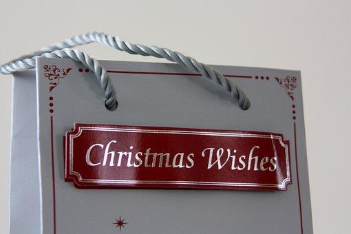 Christmas, Bag, Star, Xmas, Winter, Family, Gift