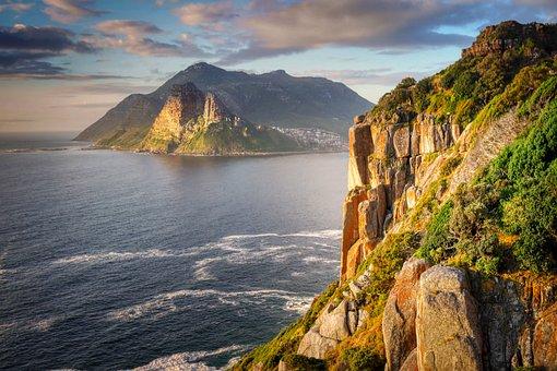 Southern Tip, Outlook, Atlantic, Sea, Ocean, Cape Town