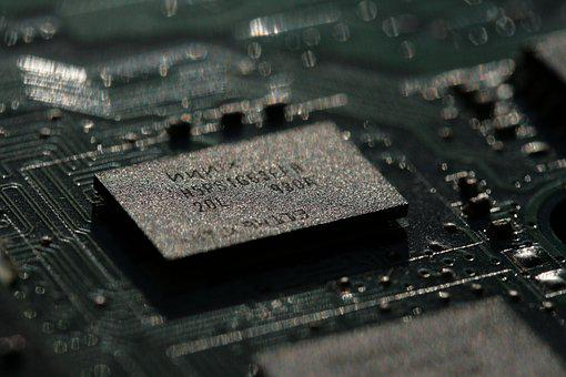 Micro-electronics, Board, Chips, Processor, Technology
