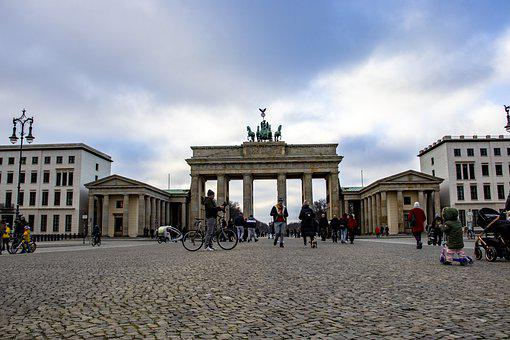 Berlin, Germany, Brandenburger Tor, Architecture