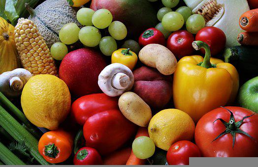 Healthy, Vegetables, Fruit, Colorful, Tasty, Organic