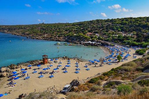 Cyprus, Konnos Bay, Bay, Beach, Landscape