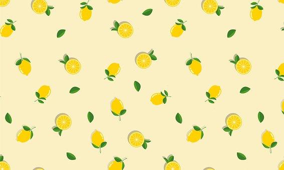 Lemons, Lemon, Fruit, Citrus, Pattern, Healthy, Fresh