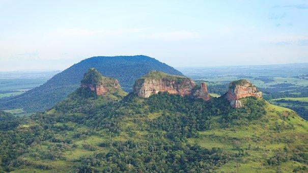 Mountains, Rocks, Green, Nature, Travel, Adventure