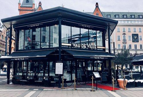 Building, Restaurant, Exterior, Facade, Cafe, Sweden