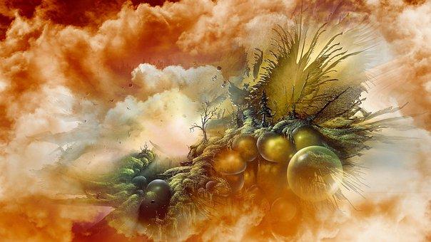 Scifi, Science, Fantasy, Universe, Space, Clouds