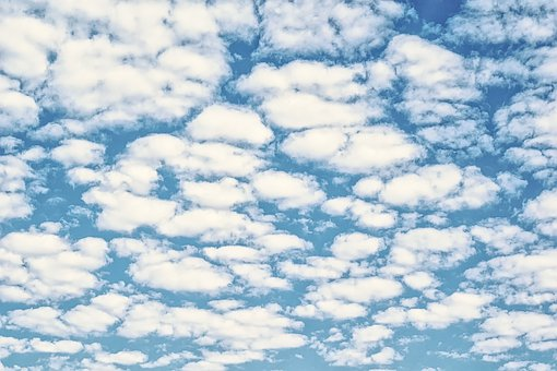 Sky, Cloudy, Clouds, Forms, Blue, Climate, Air