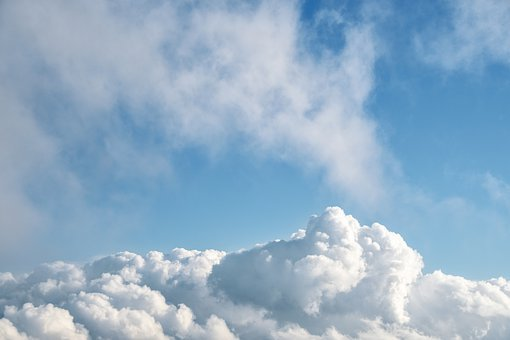 Sky, Clouds, Blue, Forms, Climate, Cloudy