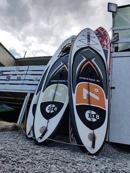 Supboard, Vacation, Sea, Active, Sports, Board