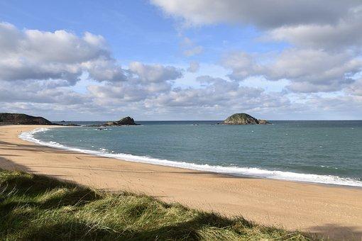 Beach, Sea, Panoramic Views, Holiday, Travel