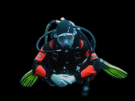 Diver, Sea, Underwater, Scuba
