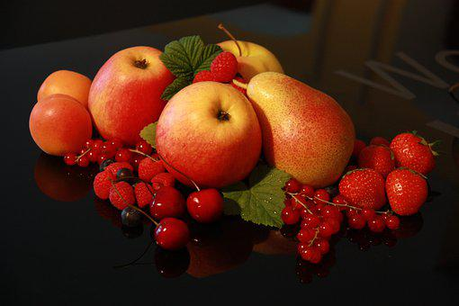 Fruit, Healthy, Vitamins, Nutrition, Sweet, Colorful