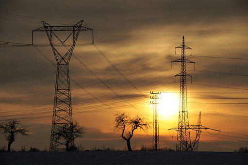 Electric Poles, Electricity, Mast, High Voltage, Wires