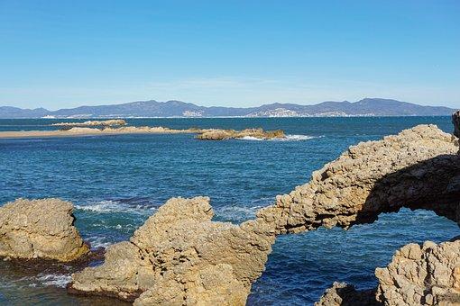 Playa, Paisaje, Beach, Ocean, Sea, Sunset, Nature
