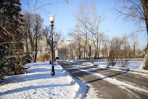 Moscow, Winter, Cold, Russia, Nature, Landscape, City