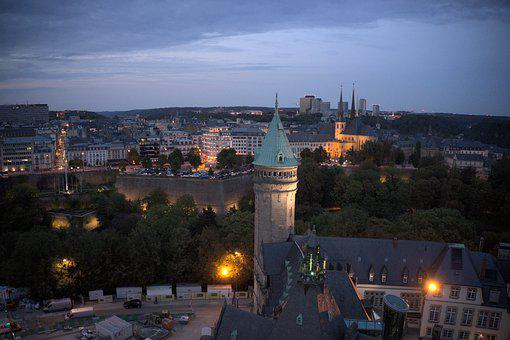 Luxembourg, City, Architecture, Historical, Europe