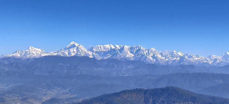 Mountain, Mountains, Nature, Natural, Ice, Snow